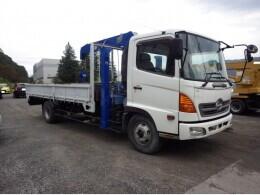 HINO Crane trucks レンジャー 4段ラジコンセルフクレーン                                                                                                                     2004/9