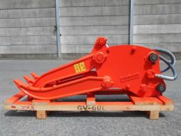 タグチ工業 アタッチメント(建設機械) GV60 ..0.45用油圧式フォーク はさみ