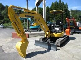KOMATSU Mini excavators PC35MR-3 2015