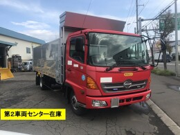 HINO Dump trucks 中古 ワイドファームダンプ 5.3m BKG-FC7JJYA 2008/11
