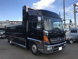 HINO Dump trucks 中古 ワイド ハイルーフ ロング深ダンプ TKG-FD7JJAA 2015/11