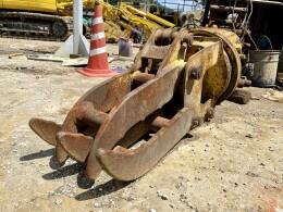 室戸鉄工所 アタッチメント(建設機械) GF30R 0.15用旋回フォーク