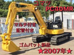 KOMATSU Mini excavators PC40MR 2007