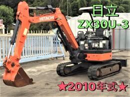 HITACHI Mini excavators ZX30U-3 2010