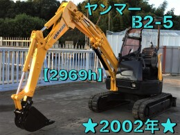 YANMAR Mini excavators B2-5 2002