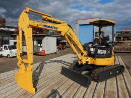 KOMATSU Mini excavators PC35MR-3 2015