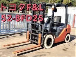 トヨタ フォークリフト 52-8FD25 2014年