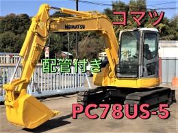 コマツ 油圧ショベル(ユンボ) PC78US-6NO 2007年