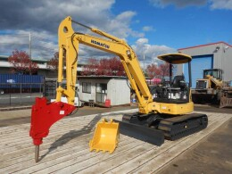KOMATSU Mini excavators PC50MR-2 2004