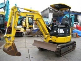 KOMATSU Mini excavators PC20MR-3 2016