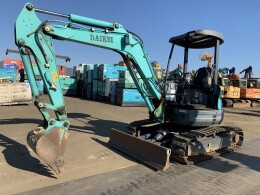 KOBELCO Mini excavators SK35SR-5 2013
