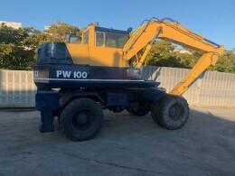 KOMATSU Excavators PW100