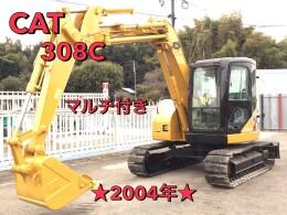 キャタピラー 油圧ショベル(ユンボ) 308C 2004年