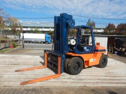 TOYOTA Forklifts 20-5FD70 1992
