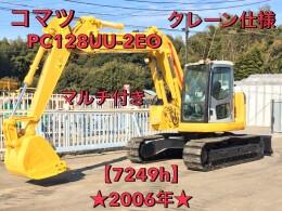 KOMATSU Excavators PC128UU-2EO 2006