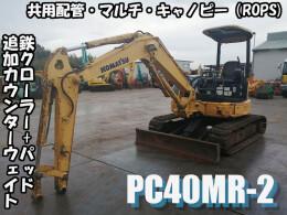 コマツ ミニ油圧ショベル(ミニユンボ) PC40MR-2 2006年