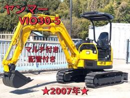 ヤンマー ミニ油圧ショベル(ミニユンボ) ViO30-5 2007年
