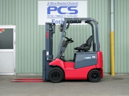 NICHIYU Forklifts FB15P-75-300 2012