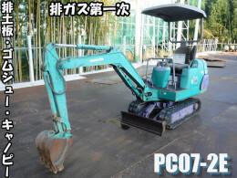 KOMATSU Mini excavators PC07-2E