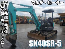 コベルコ建機 ミニ油圧ショベル(ミニユンボ) SK40SR-5 2012年