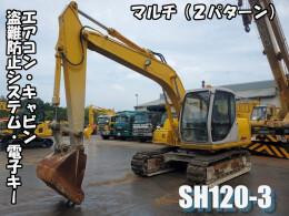 住友建機 油圧ショベル(ユンボ) SH120-3 2004年