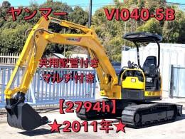 YANMAR Mini excavators ViO40-5B 2011