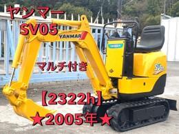 YANMAR Mini excavators SV05 2005