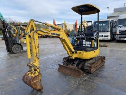 KOMATSU Mini excavators PC18MR-3 2014