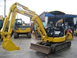 KOMATSU Mini excavators PC30MR-3 ROPS CNP レンタルバージョン仕様機                                                                         2014