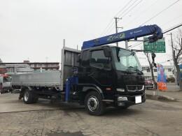 MITSUBISHI FUSO Crane trucks QKG-FK62FZ 2014/2