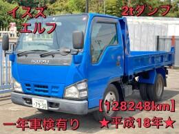 いすゞ ダンプ車 PB-NKR81AD 2006年1月