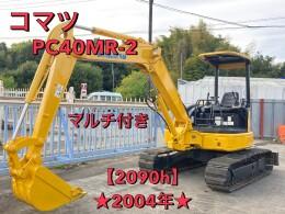 コマツ ミニ油圧ショベル(ミニユンボ) PC40MR-2 2004年