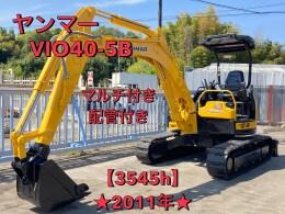 ヤンマー ミニ油圧ショベル(ミニユンボ) ViO40-5B 2011年