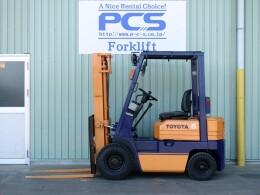 TOYOTA Forklifts 5FGL15 1993