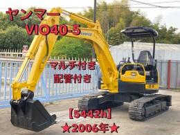YANMAR Mini excavators ViO40-5 2004
