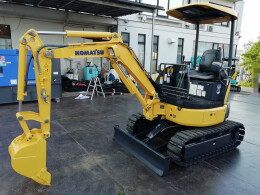 KOMATSU Mini excavators PC20MR-3                                                                         2011