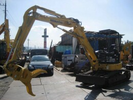 KOMATSU Mini excavators PC35MR-3                                                                         2012