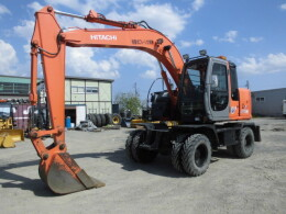 HITACHI Excavators ZX125W                                                                         2007