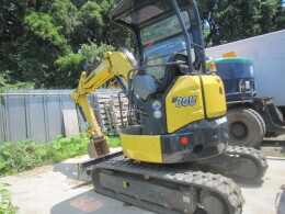 YANMAR Mini excavators B30U キャノピー仕様                                                                         2017