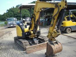 YANMAR Mini excavators ViO30 (ViO30-6) キャノピー仕様 クイックヒッチ                                                                         2012
