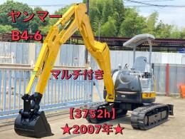 YANMAR Mini excavators B4-6A 2007