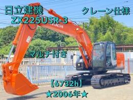 日立建機 油圧ショベル(ユンボ) ZX225USR-3 2006年