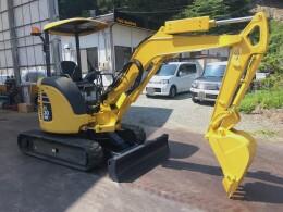 KOMATSU Mini excavators PC30MR-3                                                                         2011