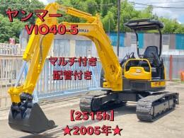 YANMAR Mini excavators ViO40-5 2005