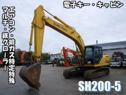 住友建機 油圧ショベル(ユンボ) SH200-5 2008年