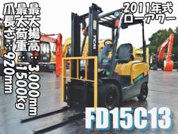 TCM Forklifts FD15C13 2011