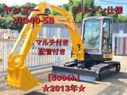 ヤンマー ミニ油圧ショベル(ミニユンボ) ViO40-5B キャビン仕様 標準 2013年