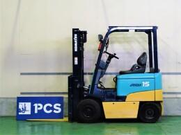 KOMATSU Forklifts FB15EXL-8 2000