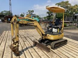 KOMATSU Mini excavators PC18MR-3 2015