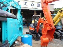 HITACHI Mini excavators ZX20Uアワーメーター883時間                                                                         2008